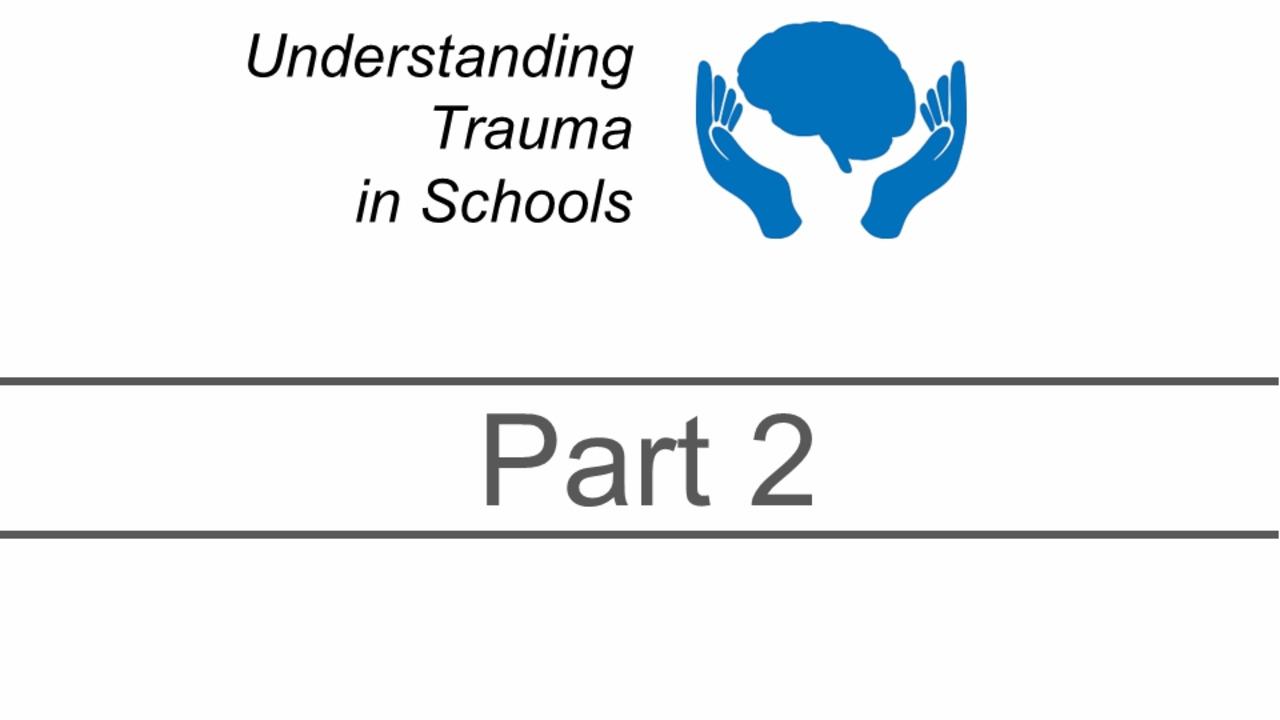 Understanding Trauma - Part 2 - Preview