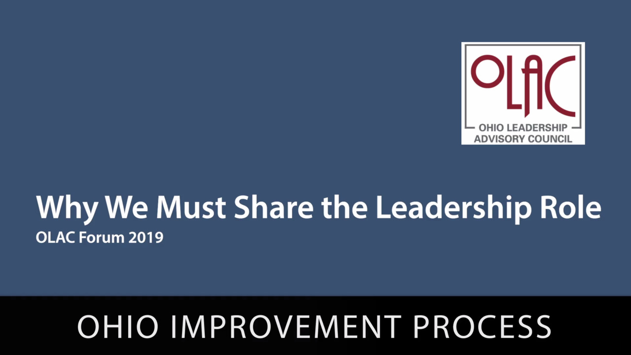 Why We Must Share the Leadership Role - Preview
