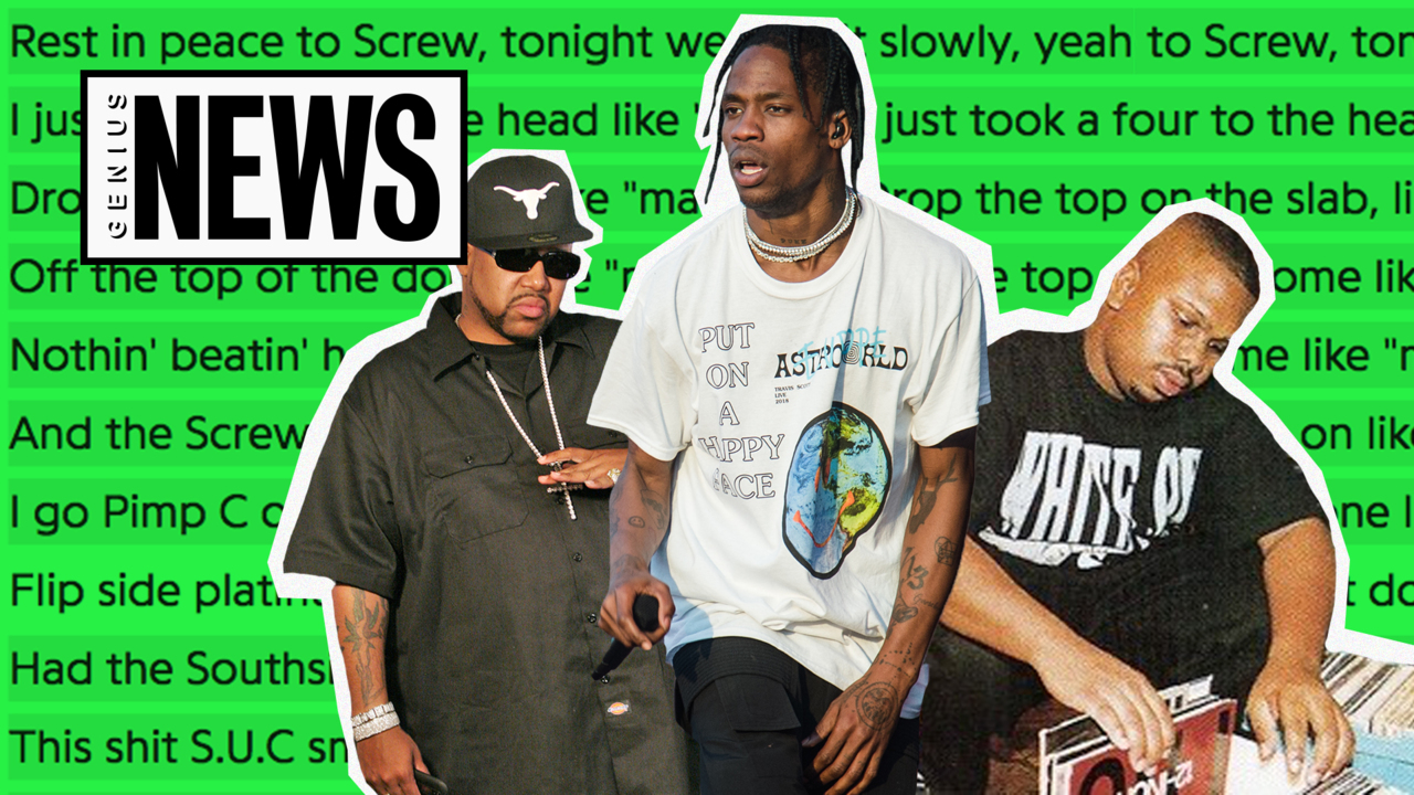 edf615b29dc9 The Voices Of Houston's Screwed Up Click Are Sampled All Over Travis Scott's  'ASTROWORLD' | Genius