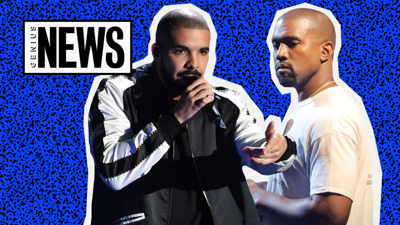a7a567bb3d8 Drake Talks About Kanye West Beef