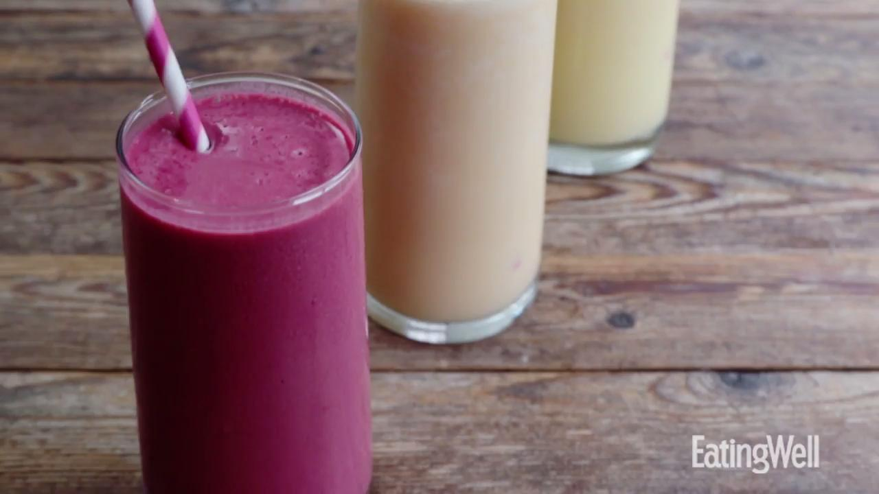 how to make a 3-ingredient fruit smoothie