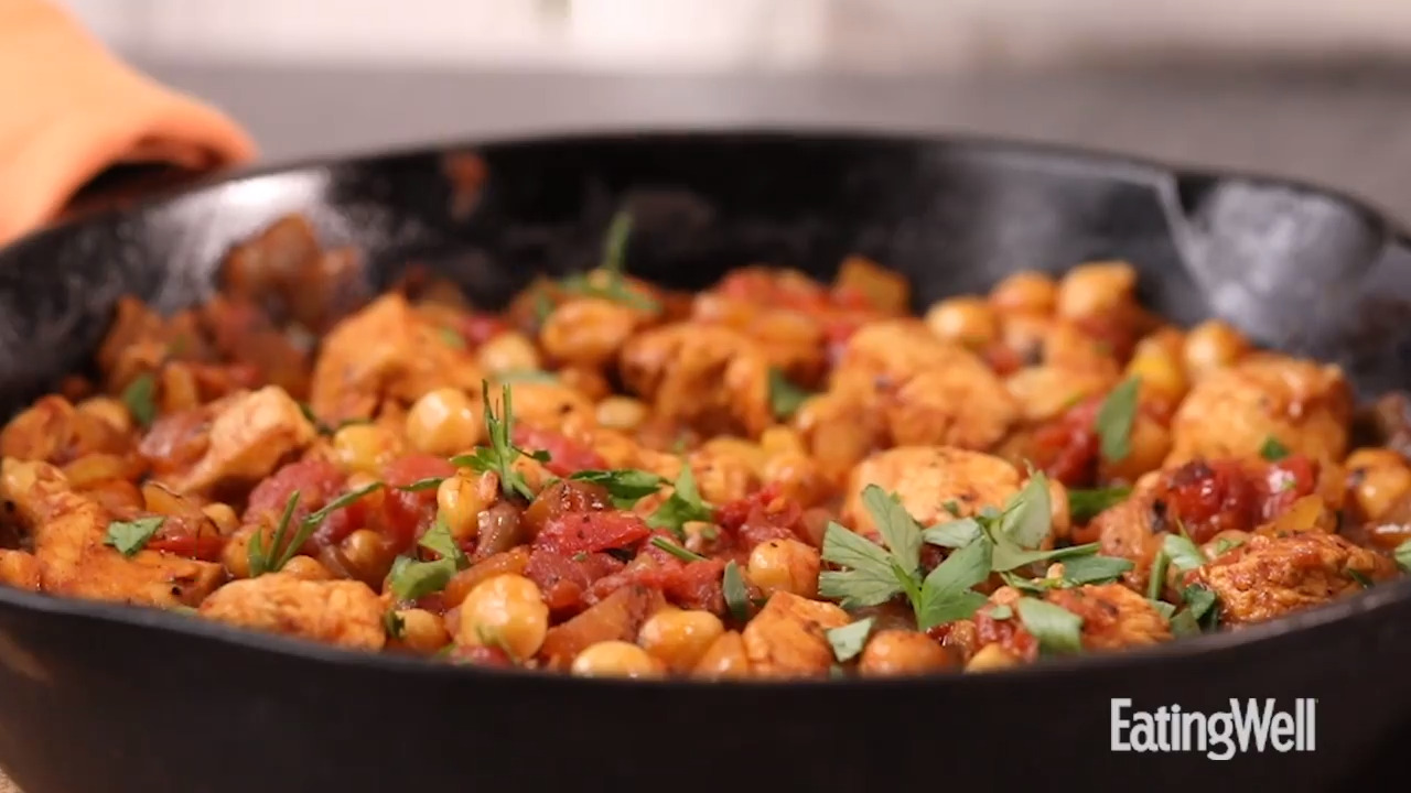 How to Make Middle Eastern Chicken & Chickpea Stew