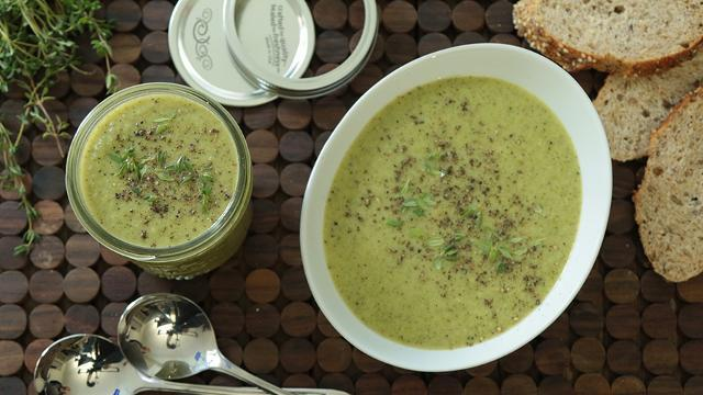 How to Make Creamy Broccoli Soup in Your Blender - EatingWell
