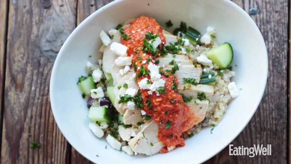 How to Make Mediterranean Quinoa Bowl