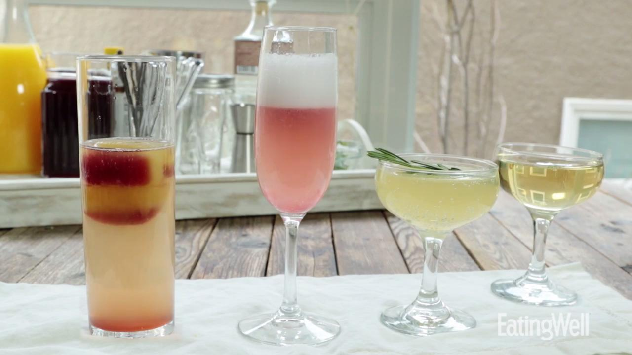 How to Make Champagne Cocktails 4 Ways