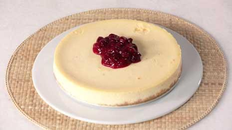 Cranberry-Lime Cheesecake Recipe