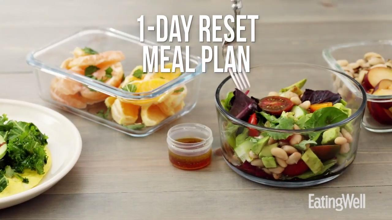 What Does A 1 Day Reset Meal Plan Look Like Eatingwell