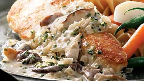 Healthy Cream of Mushroom Chicken Recipe