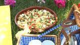 Salade d'été à l'espagnole