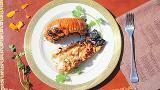 Queues de langoustes au barbecue