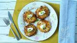 Bubble and squeak cakes