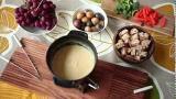 Как приготовить сырное фондю | видео рецепт