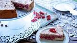 Torta de grosellas y merengue