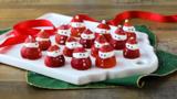 Pères Noël à la fraise
