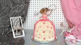 Como fazer bolo boneca