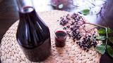 Elderberry Cordial with Honey