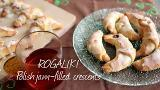 Rogaliki (Polish jam-filled crescents)