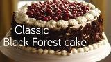 Classic Black Forest cake