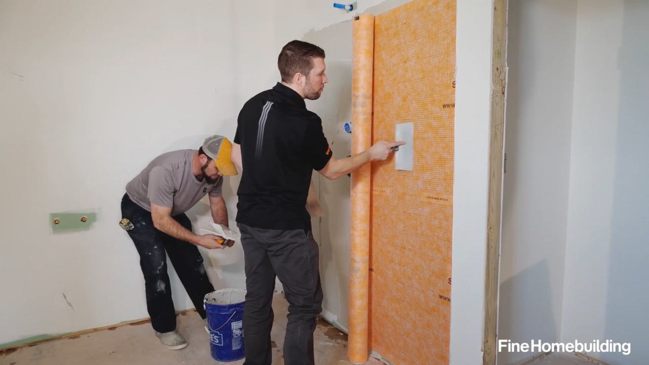 FHB House Video: A Heat-Pump Mechanical System and Prepping for Tile