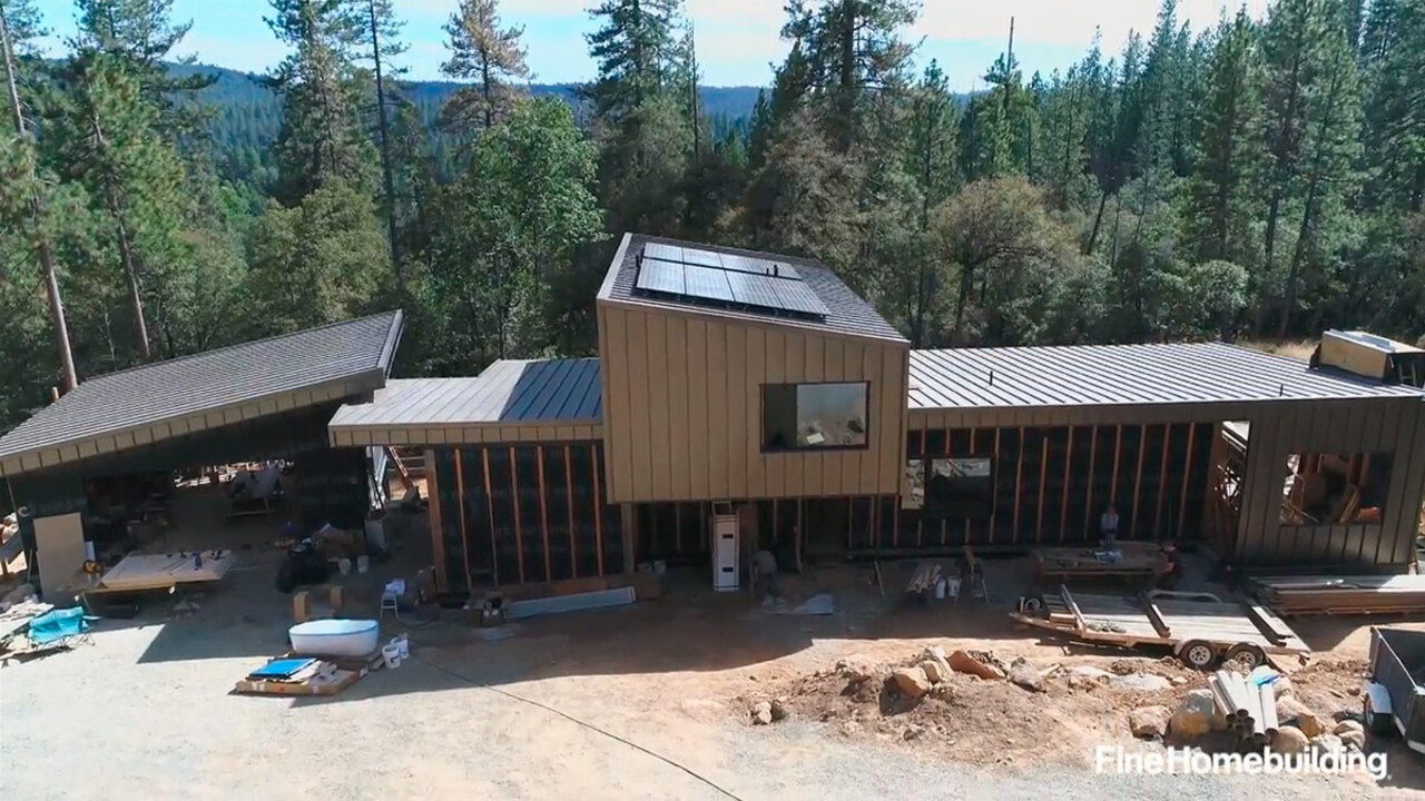 FHB House Video: Insulation, Air-sealing, and Mechanical Details