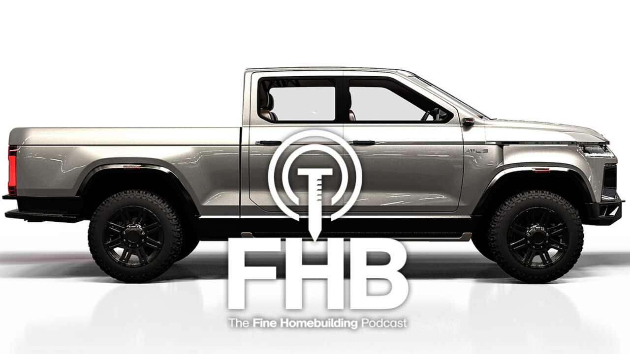 Podcast Episode 183: Work Trucks, Workshops, and Painting Brick