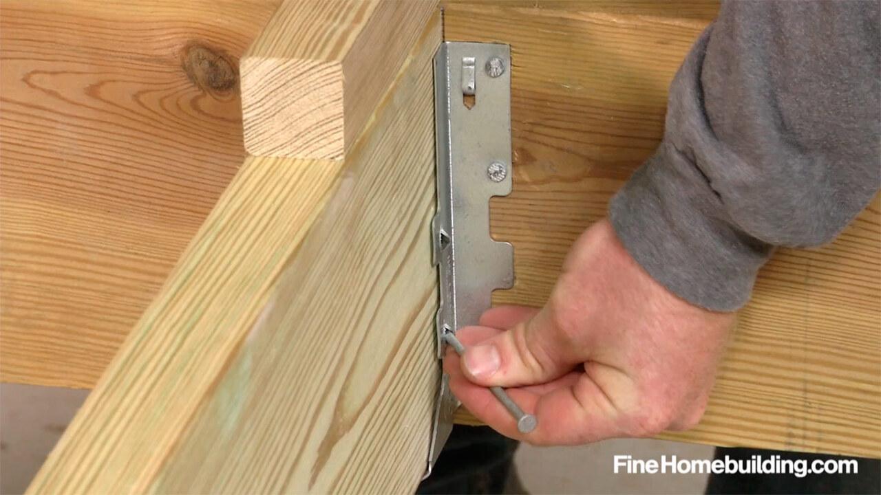 How To Install Joist Hangers Fine Homebuilding
