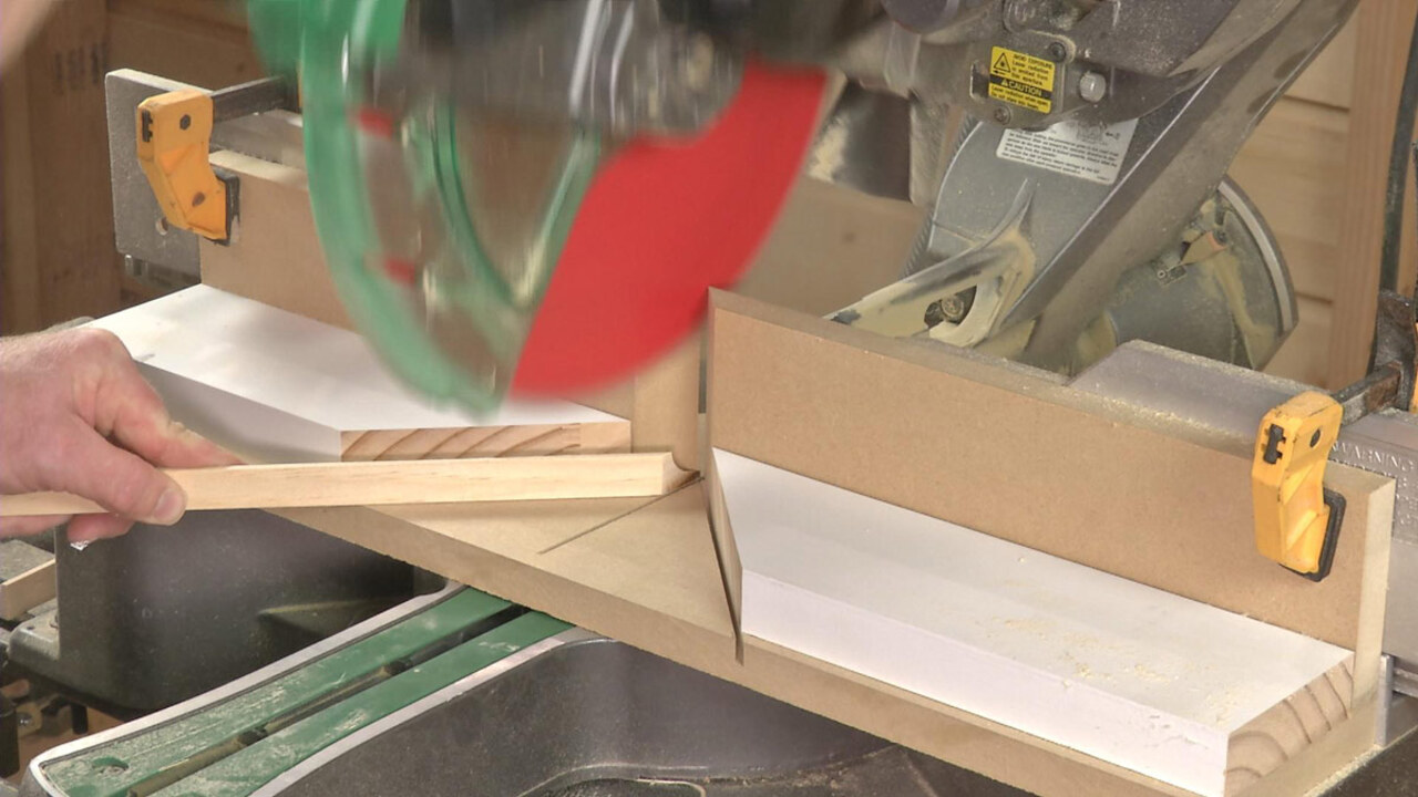 How To Cut Extreme Angles On Your Miter Saw Fine Homebuilding