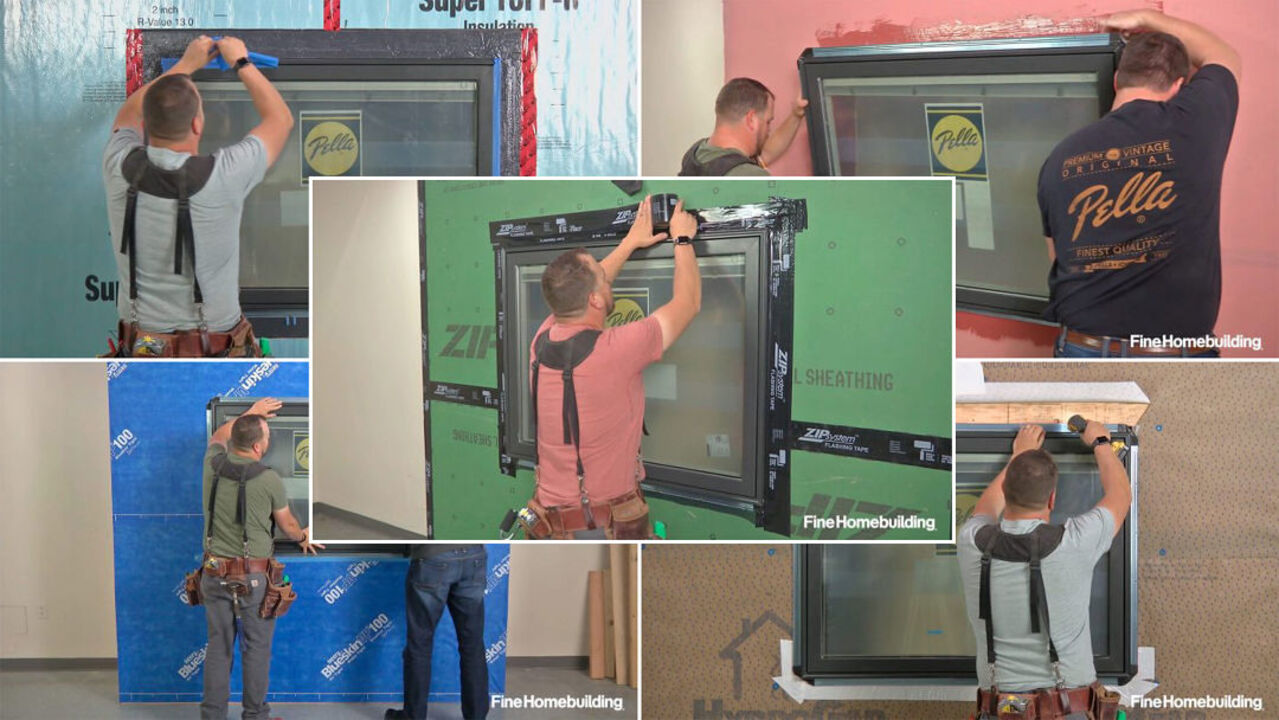 Shop Class: How to Install Nail-Fin Windows in 5 Common Wall Types