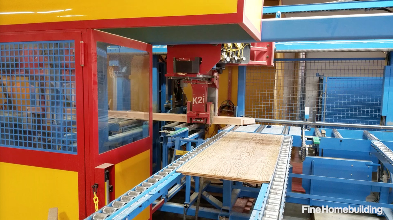 High-Tech Timber-Frame-Joinery Machine