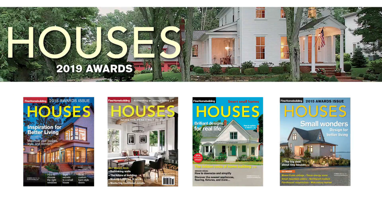 Video: Introducing the 2019 HOUSES Awards Winners