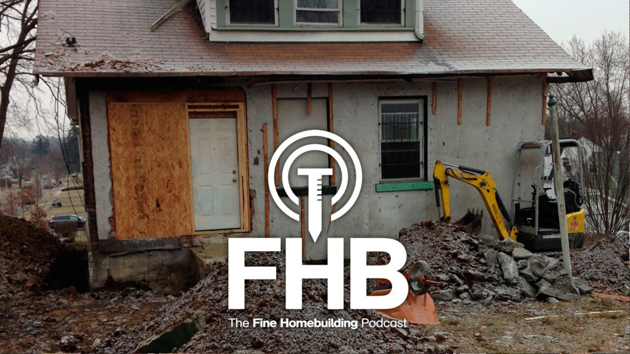 Podcast Episode 182: Greedy Dormers, Cathedral-Ceiling Insulation, and Gutters for EPDM Roofs