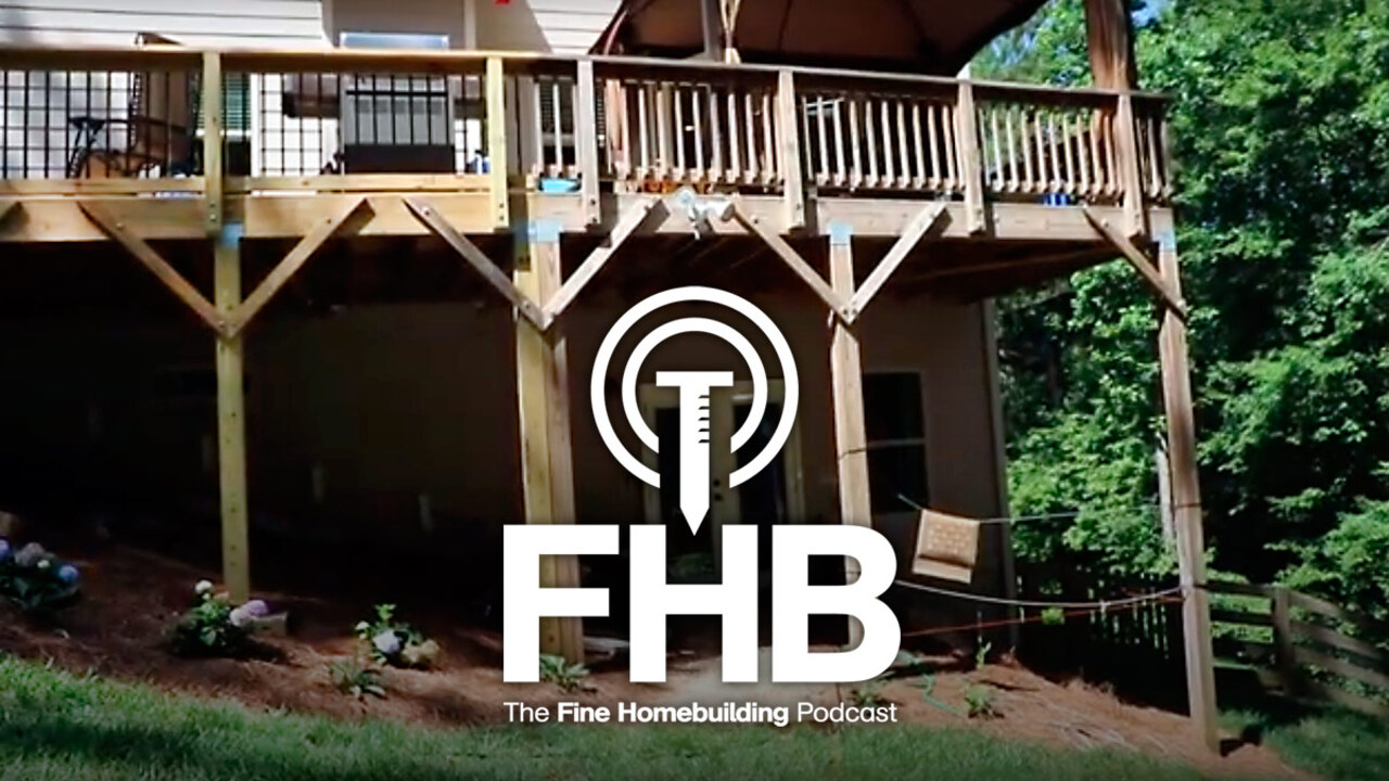 Podcast 190: Becoming a Contractor, Patching Old Siding, and Strengthening a Building with Spray Foam