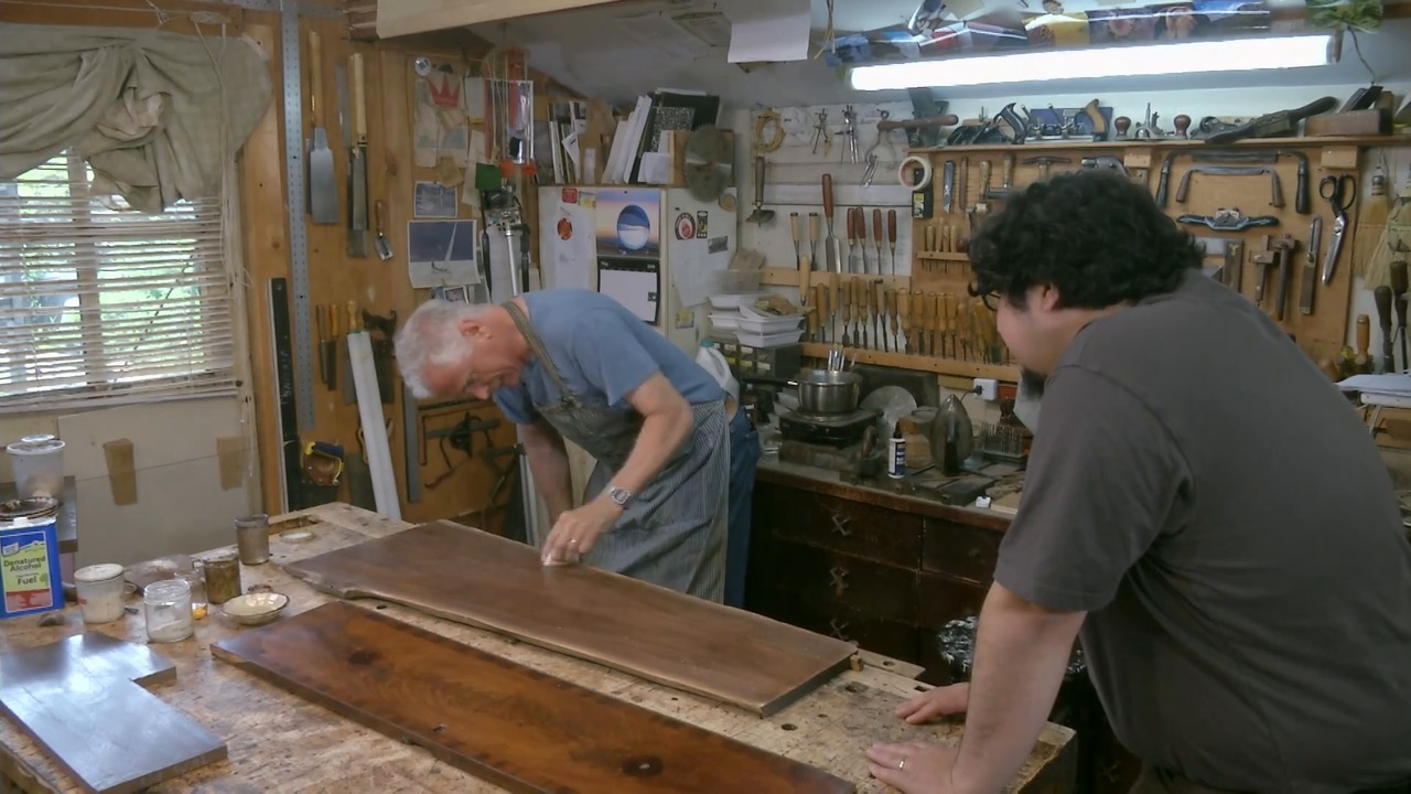 French Polishing: The First Polish – Part 2