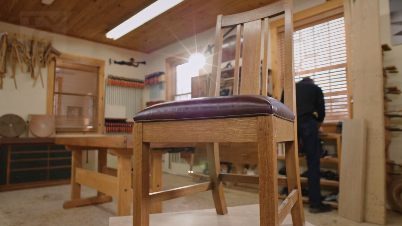 Classic Woodworking: Craftsman Dining Chair (109)