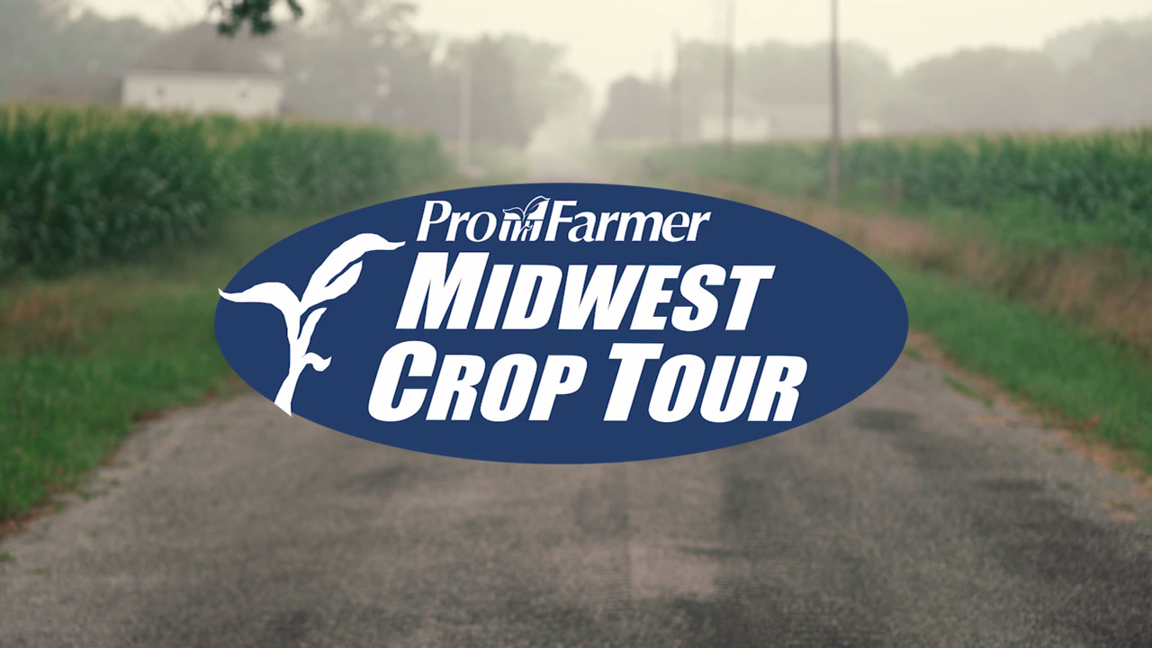 Welcome to the Pro farmer Midwest Crop Tour
