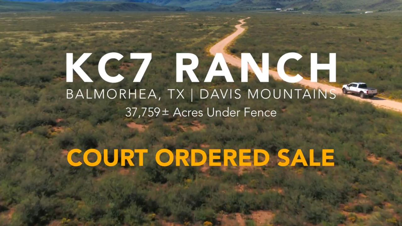 Bankruptcy Forces 37,000 Acre Texas Ranch Sale