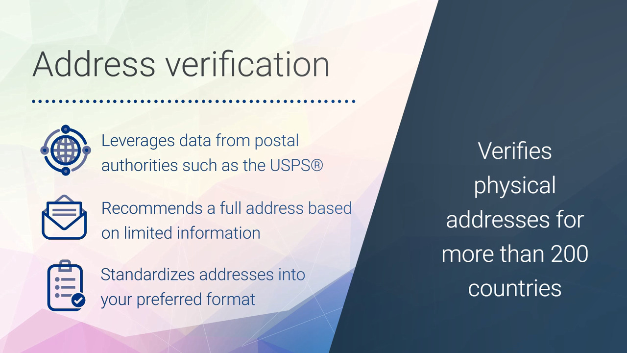 Real Time Address Verification Tools & Software | Experian