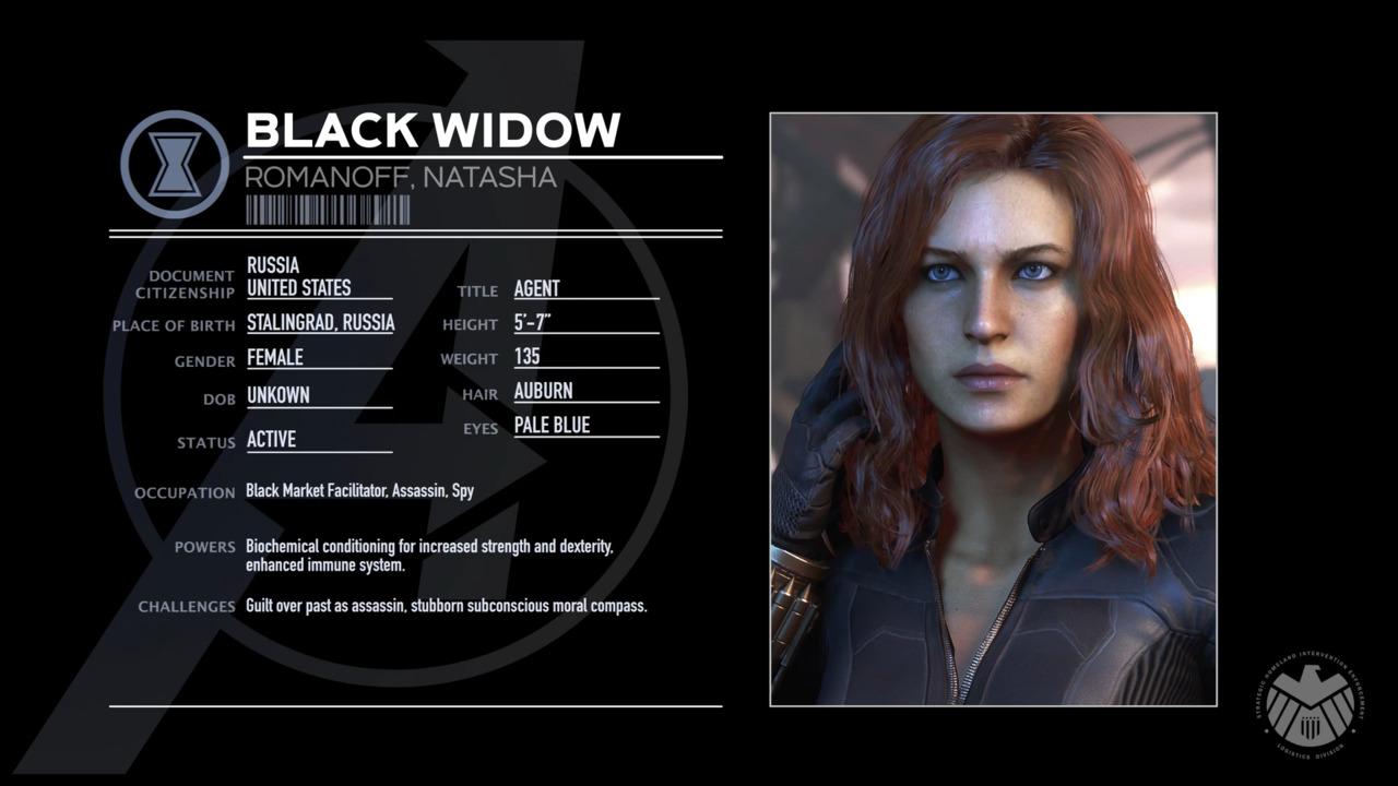 Marvel S Avengers Character Spotlight Black Widow Marvel