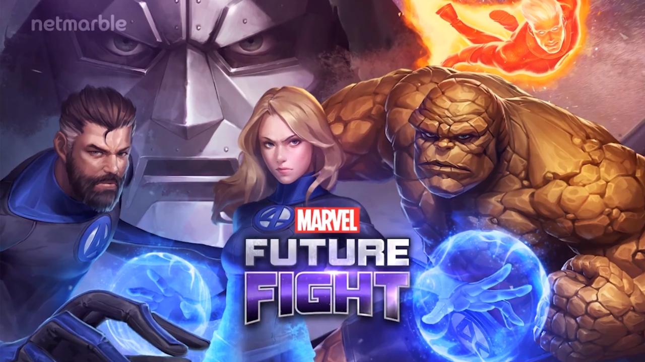 The Fantastic Four Join Marvel Future Fight Full Reveal Marvel