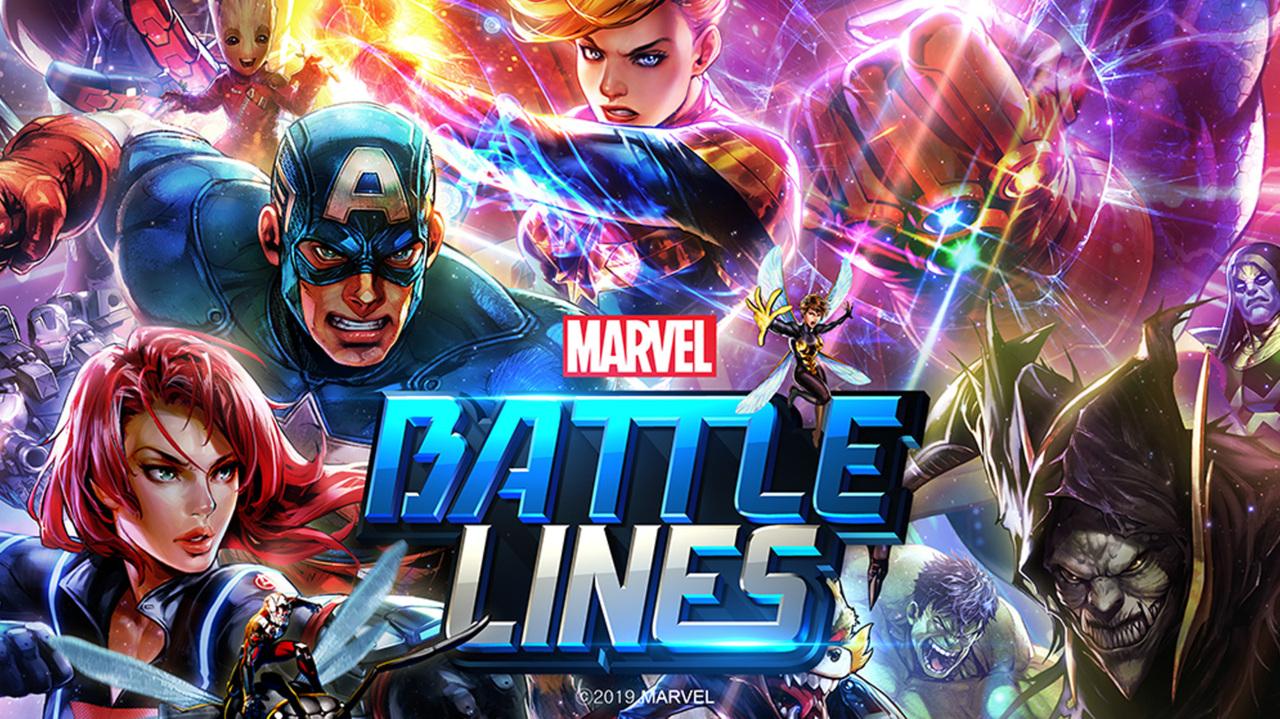Download the 'MARVEL Battle Lines' Original Game Soundtrack Now