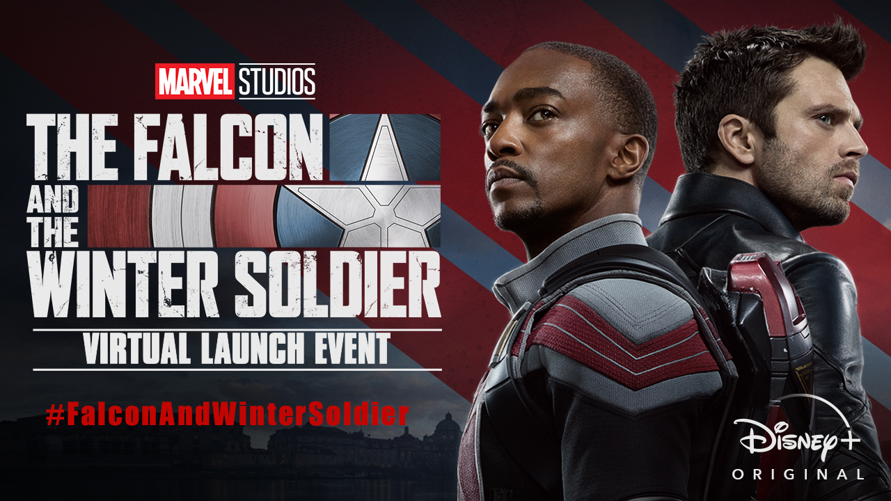 Anthony Mackie And Sebastian Stan Usher In Next Chapter Of The Mcu At The Falcon And The Winter Soldier Virtual Launch Event Marvel