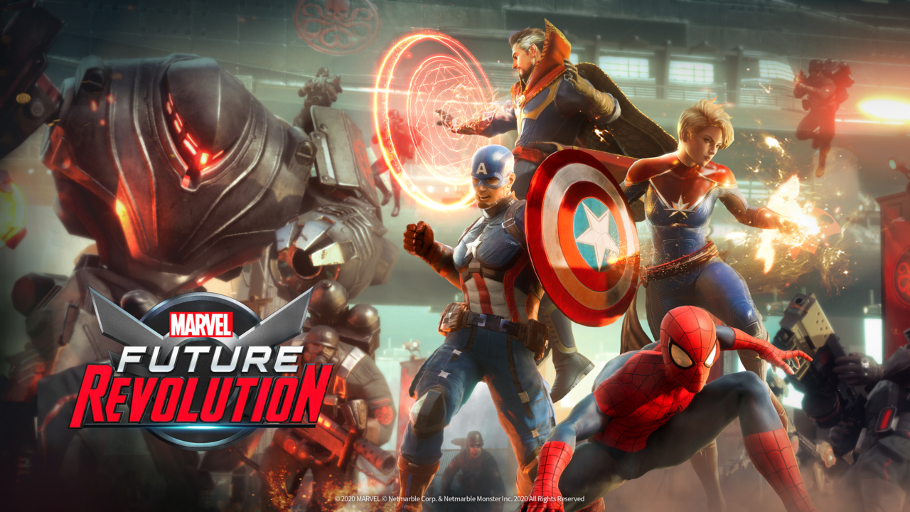 MARVEL Future Revolution= new Best  upcoming action games for Android