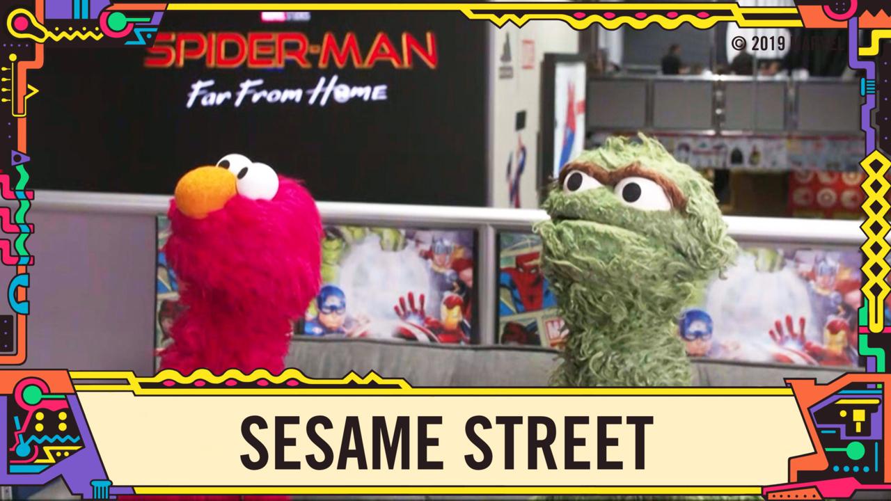 Sesame Street at Marvel LIVE from SDCC 2019! | Marvel