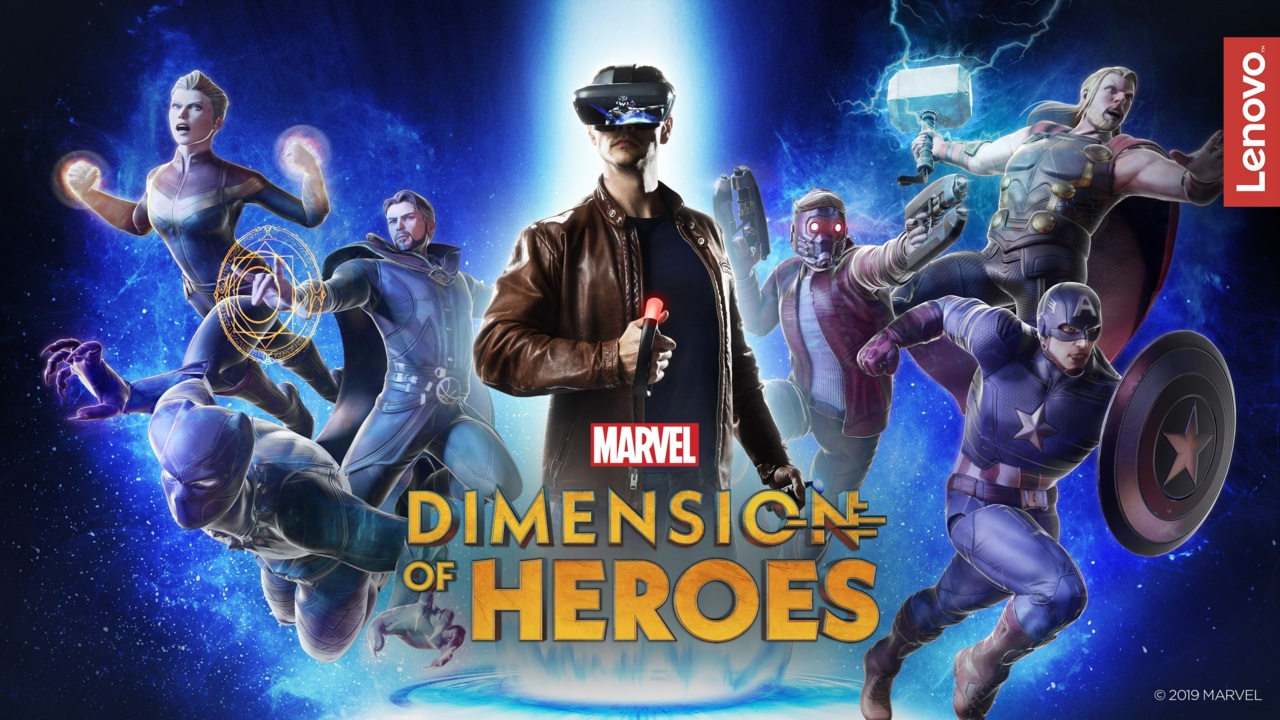 MARVEL Dimension of Heroes | Lenovo Mirage AR | Trailers