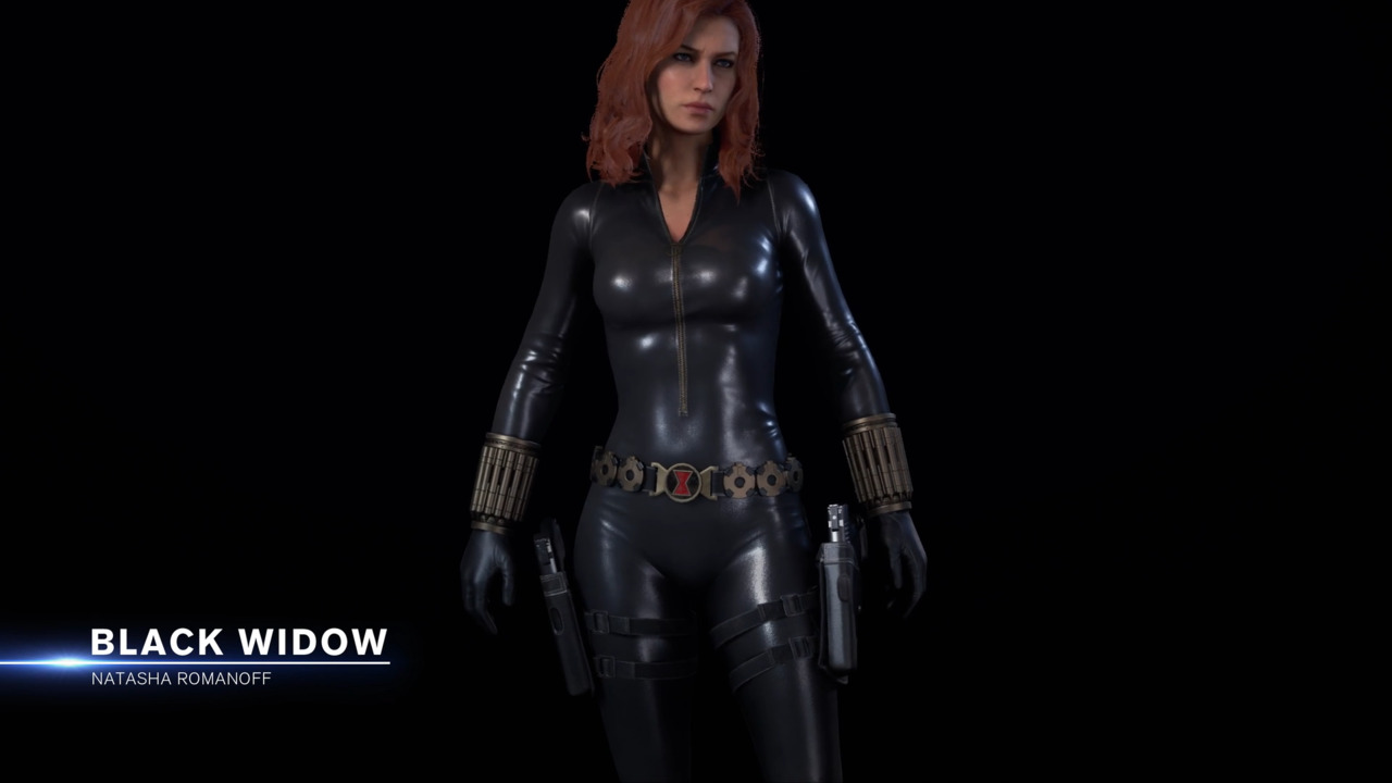 Marvel S Avengers Character Outfit Spotlight Black Widow