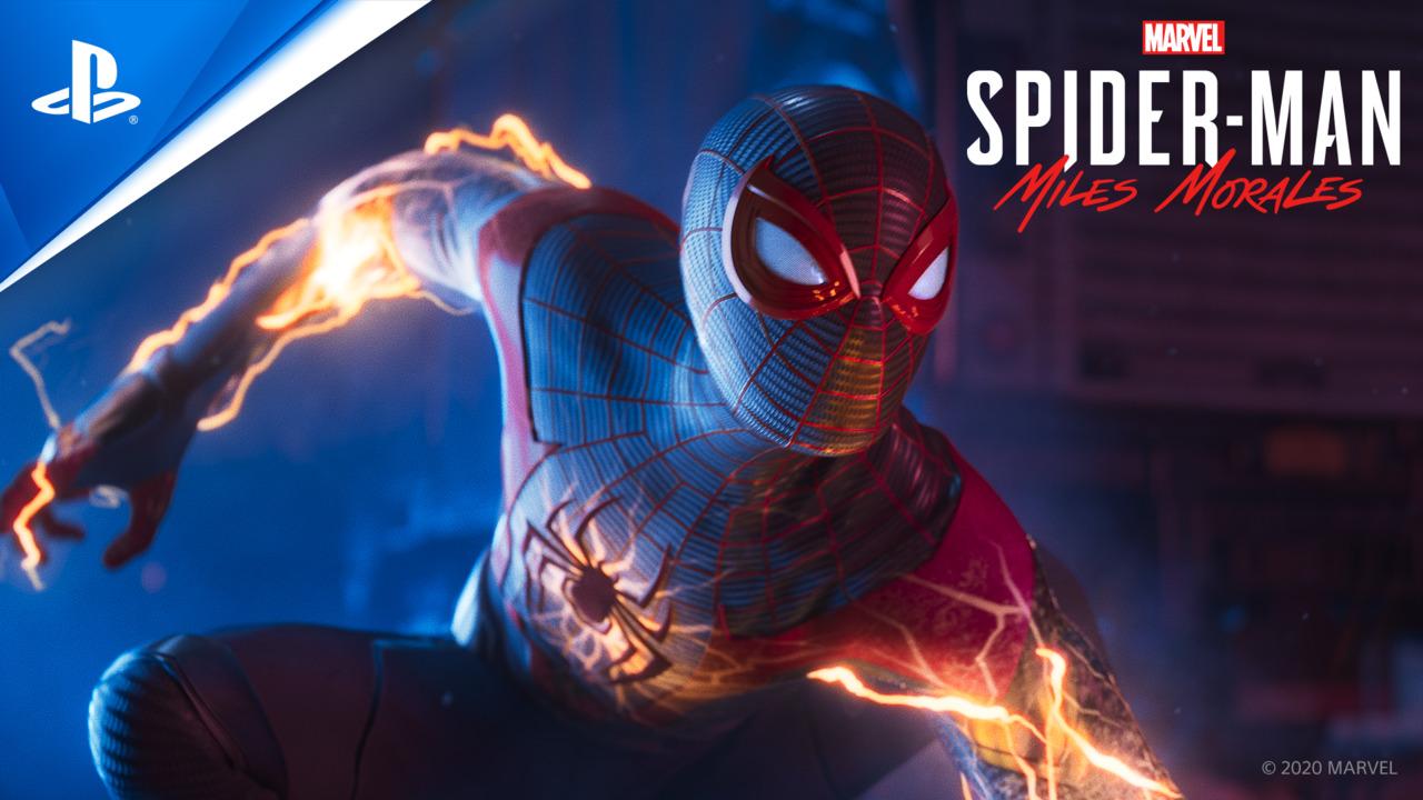 Marvels Spiderman Miles Morales
