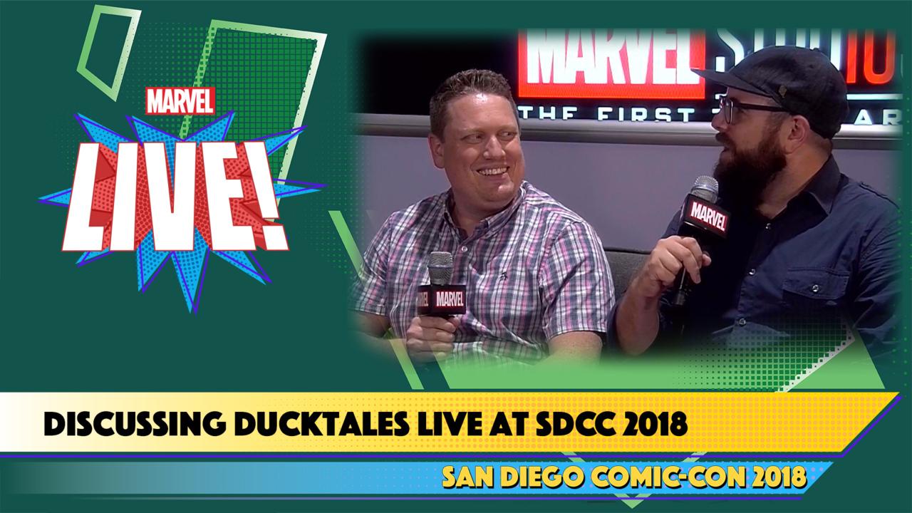 Ducktales' Matt Youngberg and Francisco Angones Live at SDCC