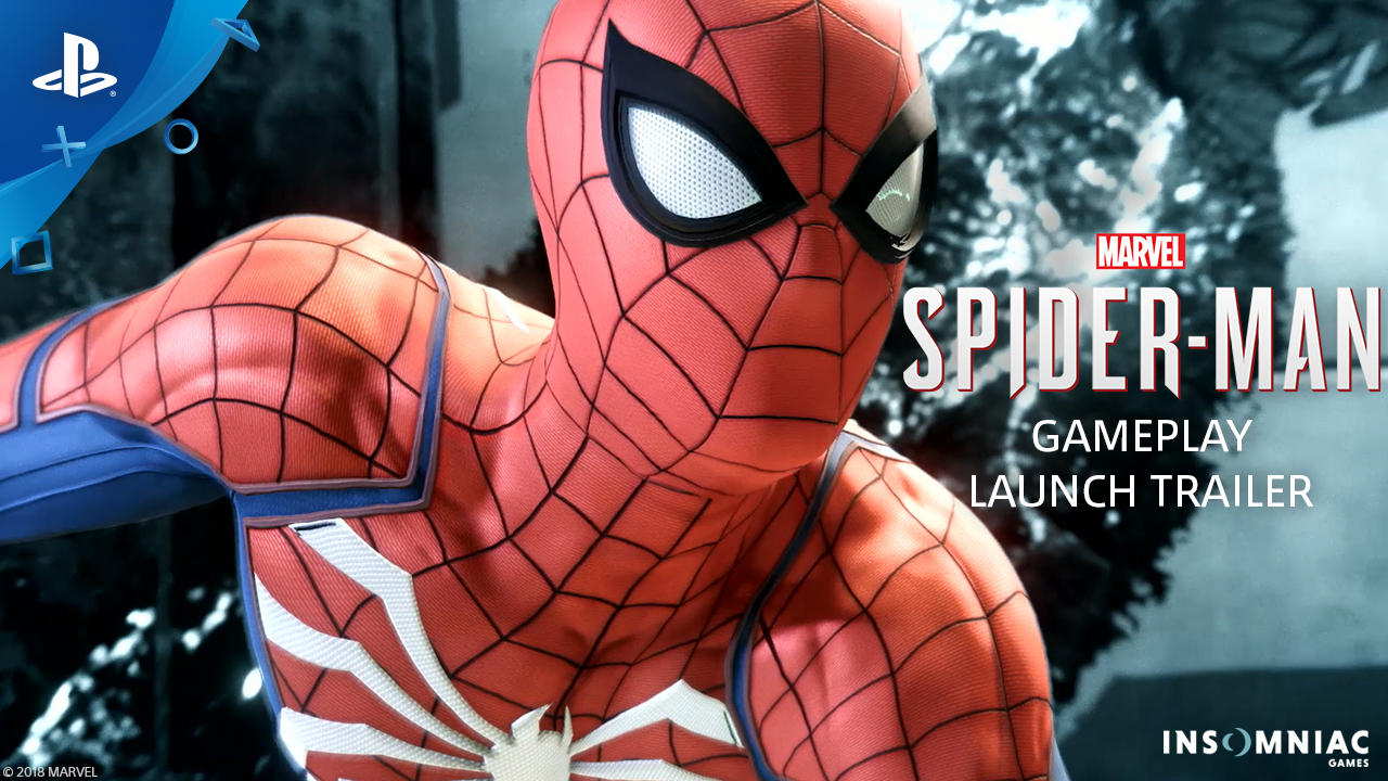 Spider-Man Game (2018, PS4 Video Game) | Trailer