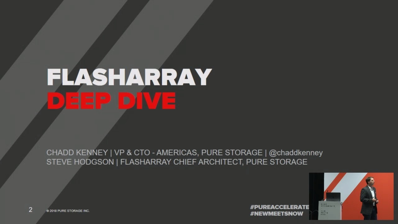 FlashArray Architecture Deep Dive and Beyond