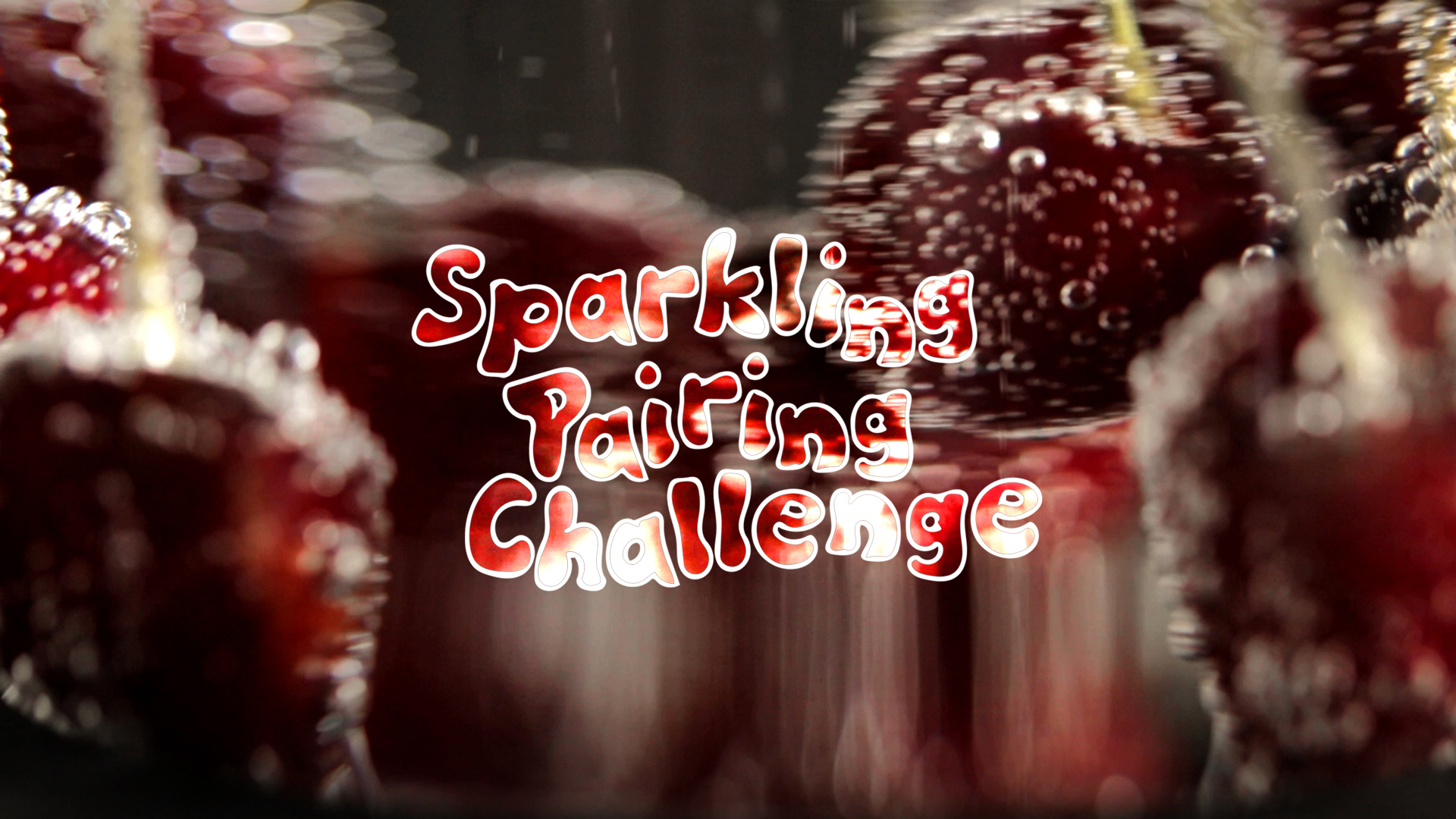 Schweppes Sparkling Pairing Challenge   Black Cherry vs. Chef Todd Shoberg